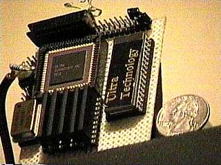 the first wire wrapped F21d test board